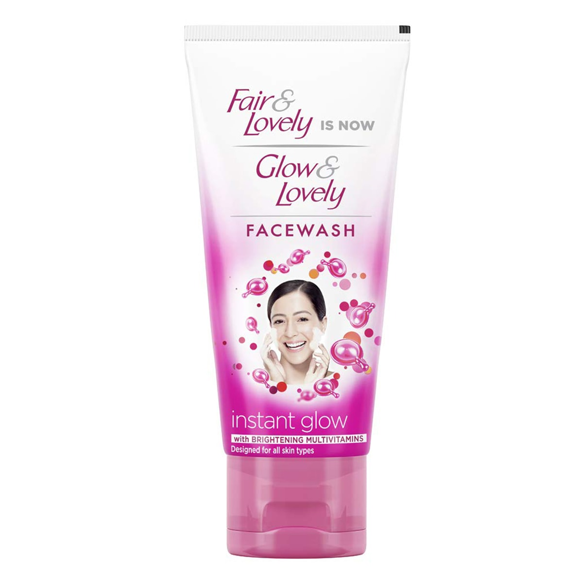 Buy Glow and Lovely Multivitamin Face Wash - 50 gm