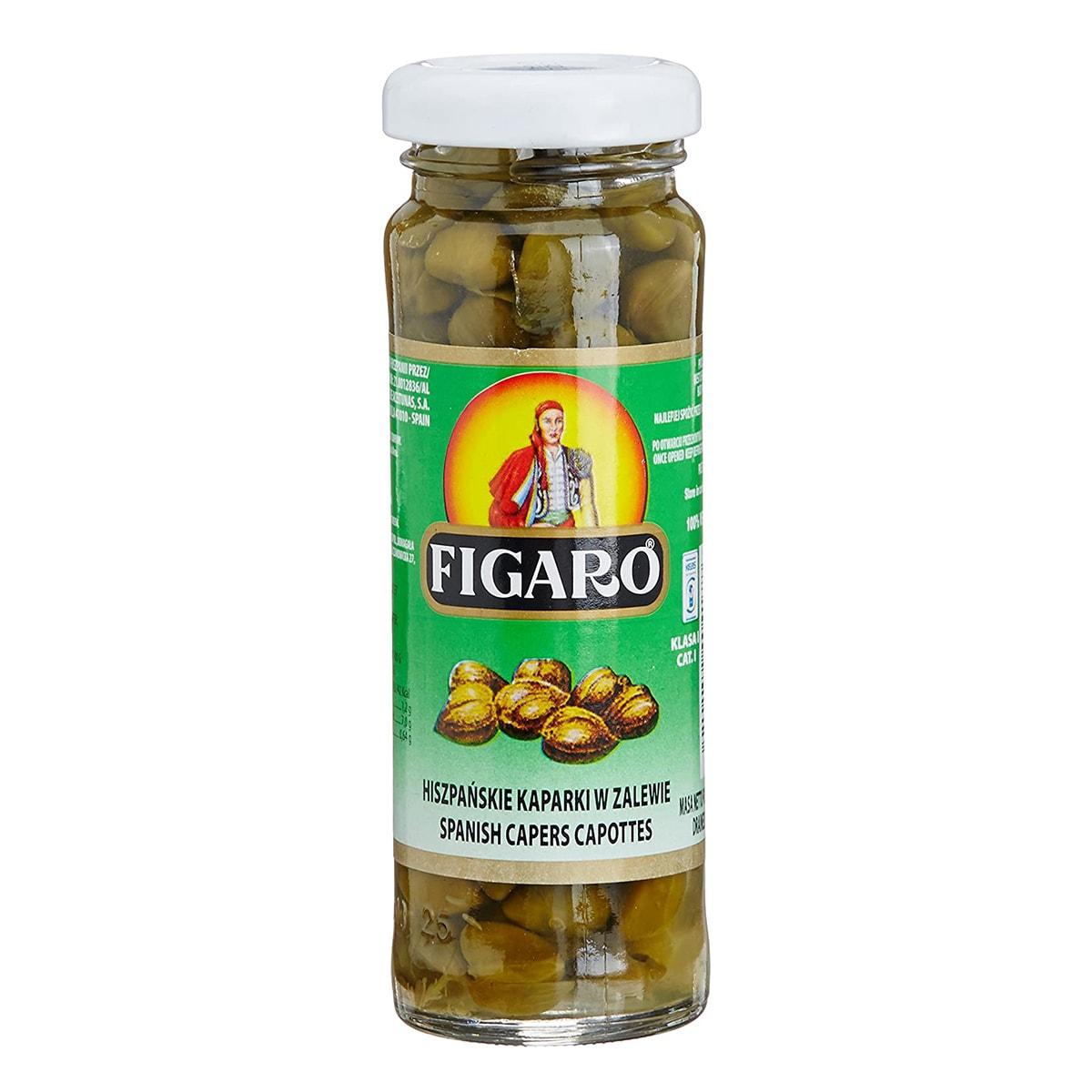 Buy Figaro Capers in Vinegar - 110 gm