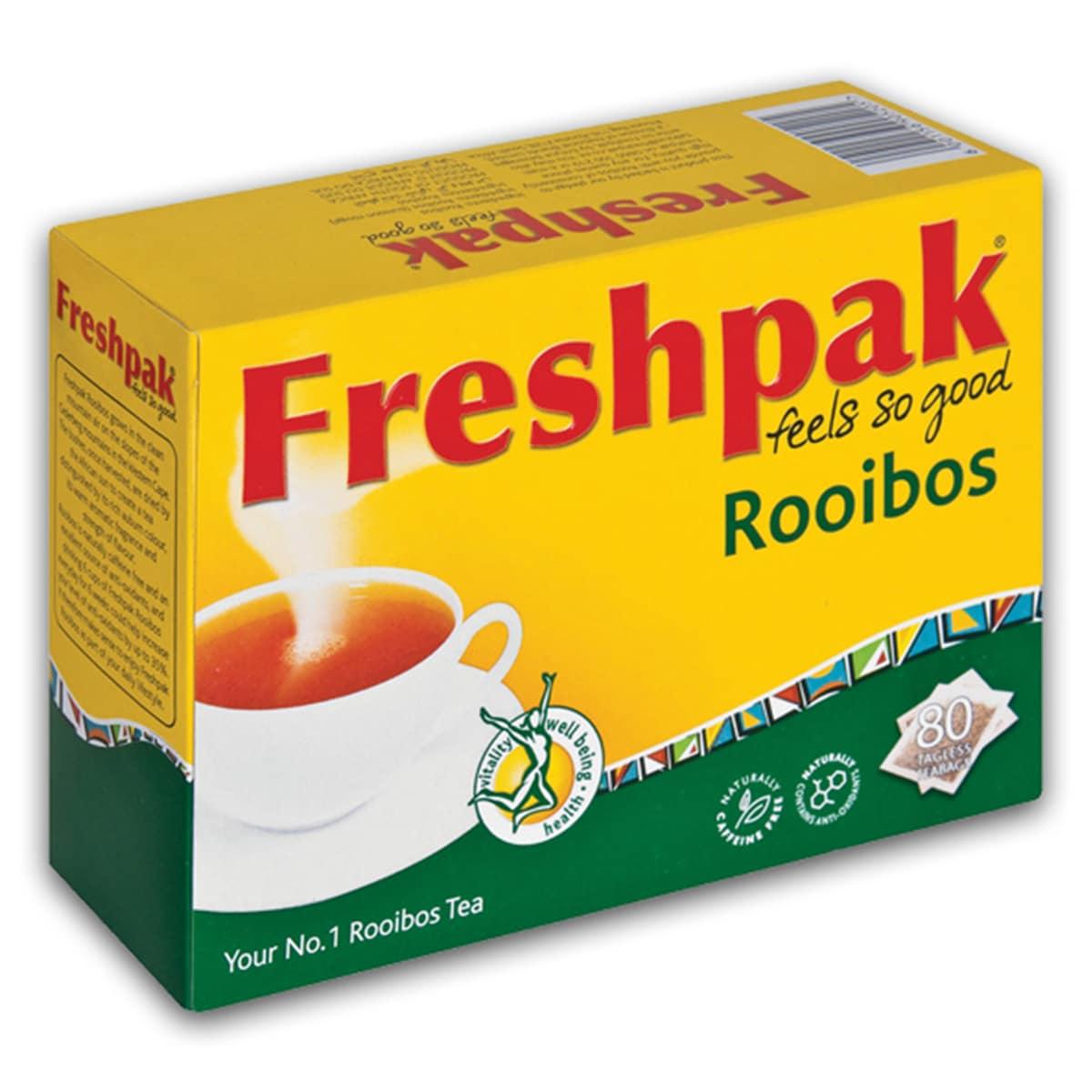 Buy Freshpak Rooibos 80 Tagless Teabags - 200 gm