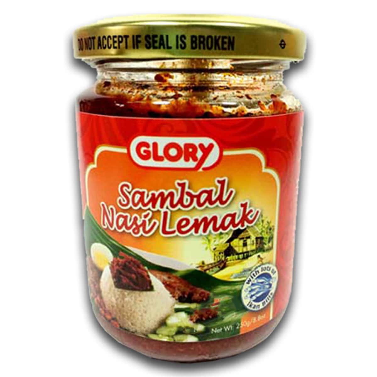 Buy Glory Sambal Nasi Lemak - 250 gm