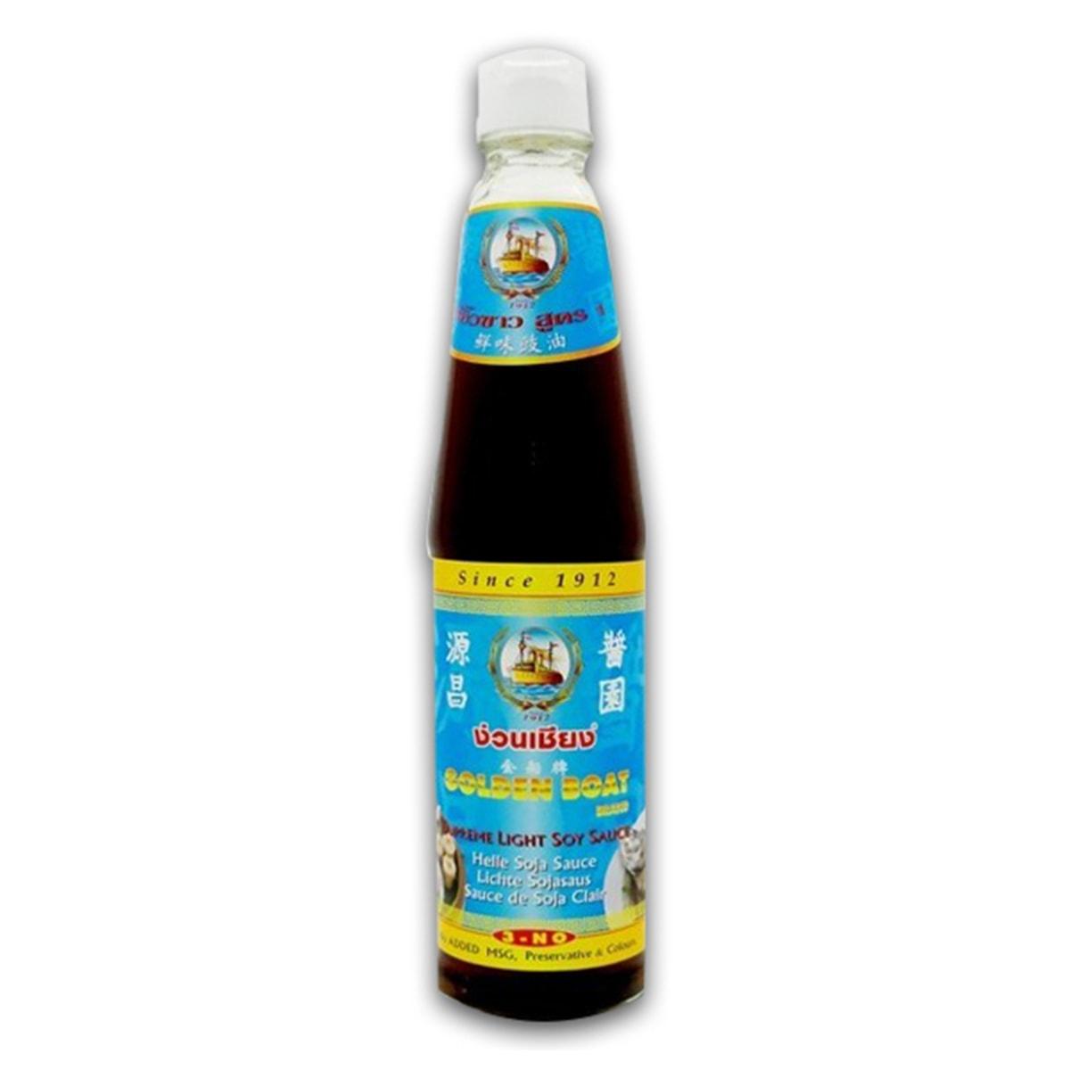 Buy Golden Boat Supreme Light Soy Sauce (Helle Soja Sauce) - 700 ml