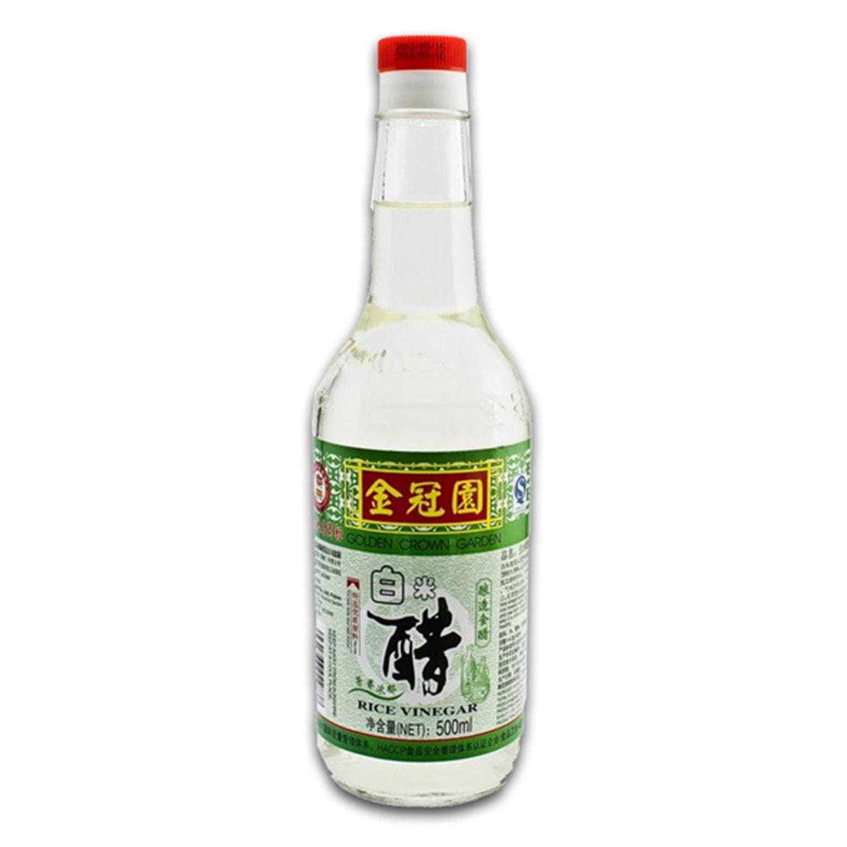 Buy Golden Crown Garden Rice Vinegar - 500 ml