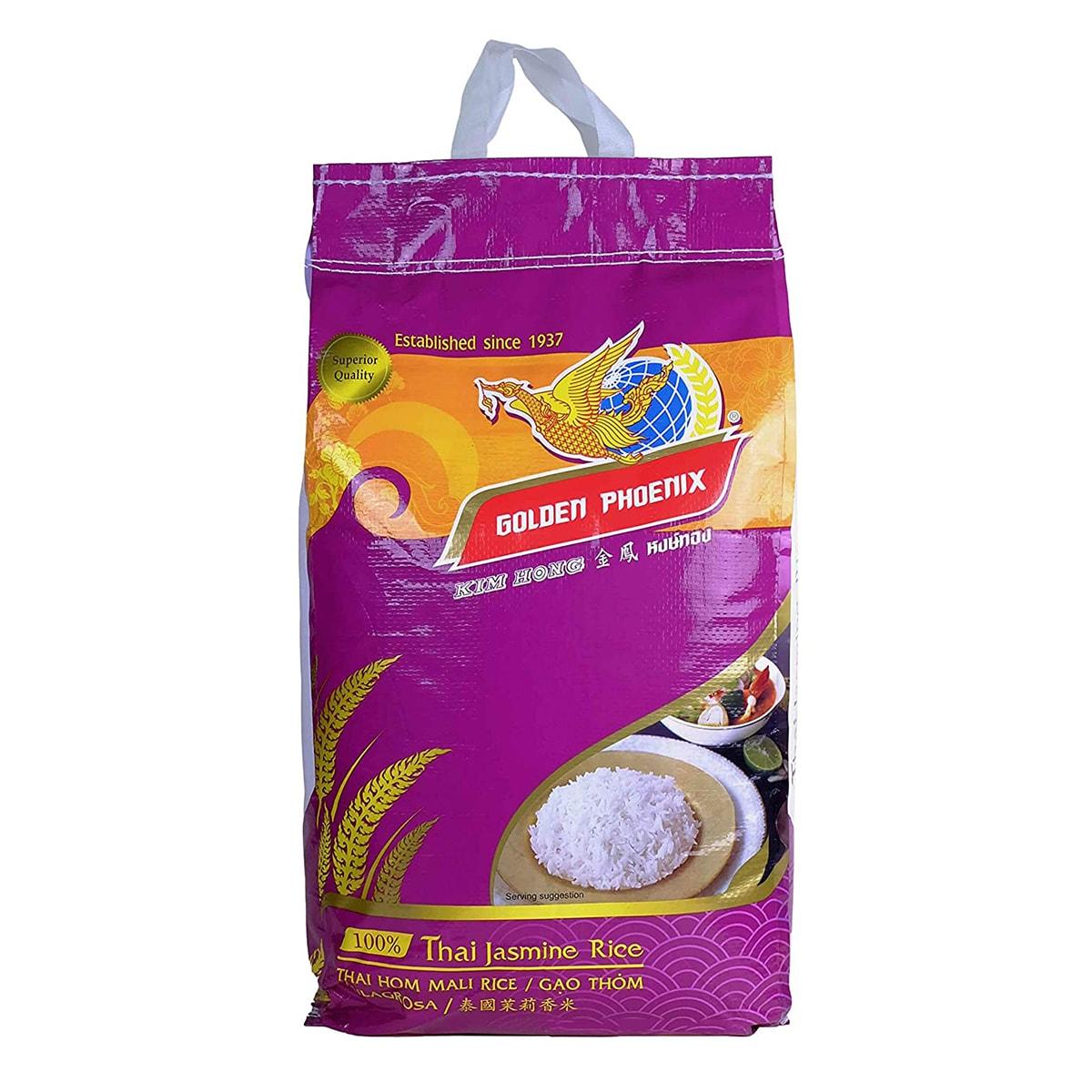 Buy Golden Phoenix Thai Jasmine Rice - 20 kg