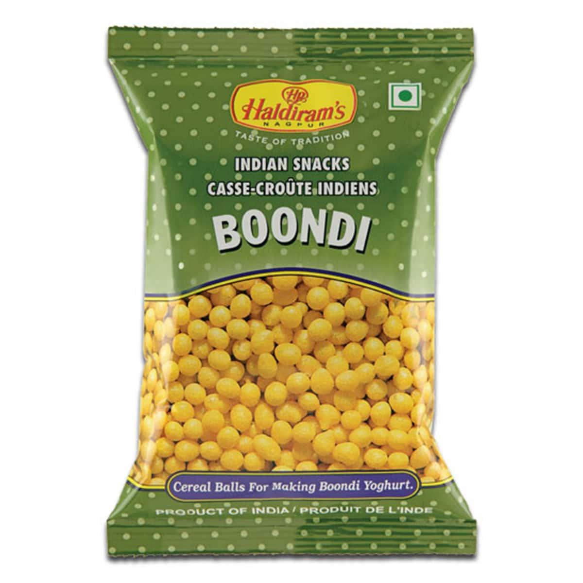 Buy Haldirams Plain Raita Boondi - 150 gm