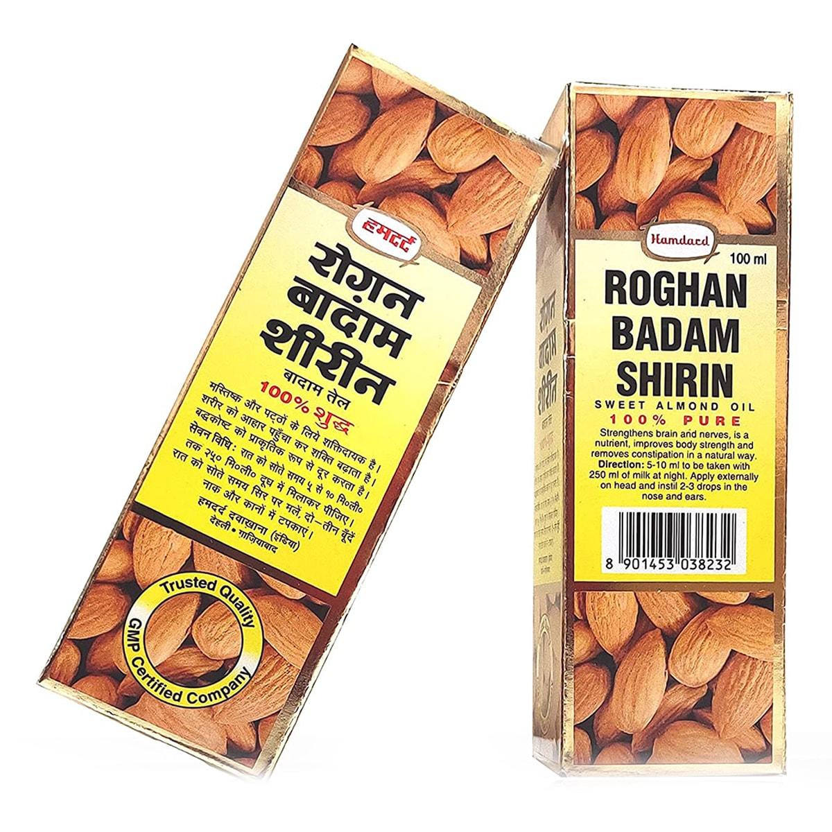 Buy Hamdard Roghan Badam Shirin (Sweet Almond Oil) - 100 ml