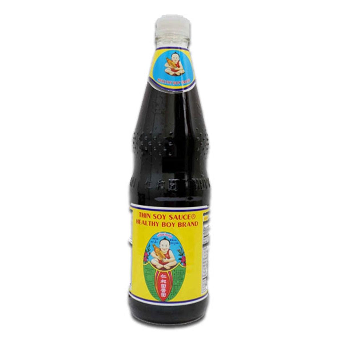 Buy Healthy Boy Brand Thin Soy Sauce - 700 ml