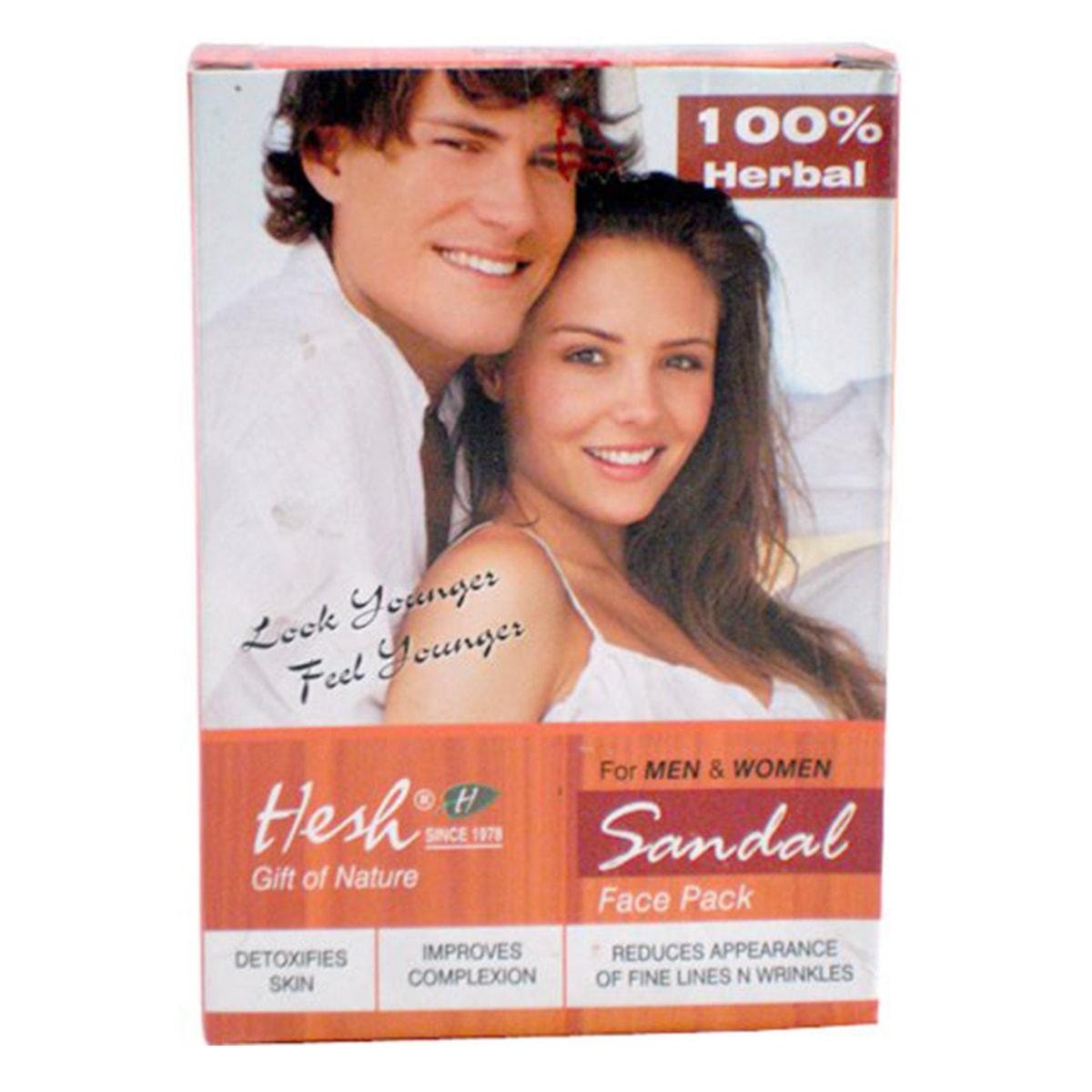 Buy Hesh Sandal Face Pack - 100 gm