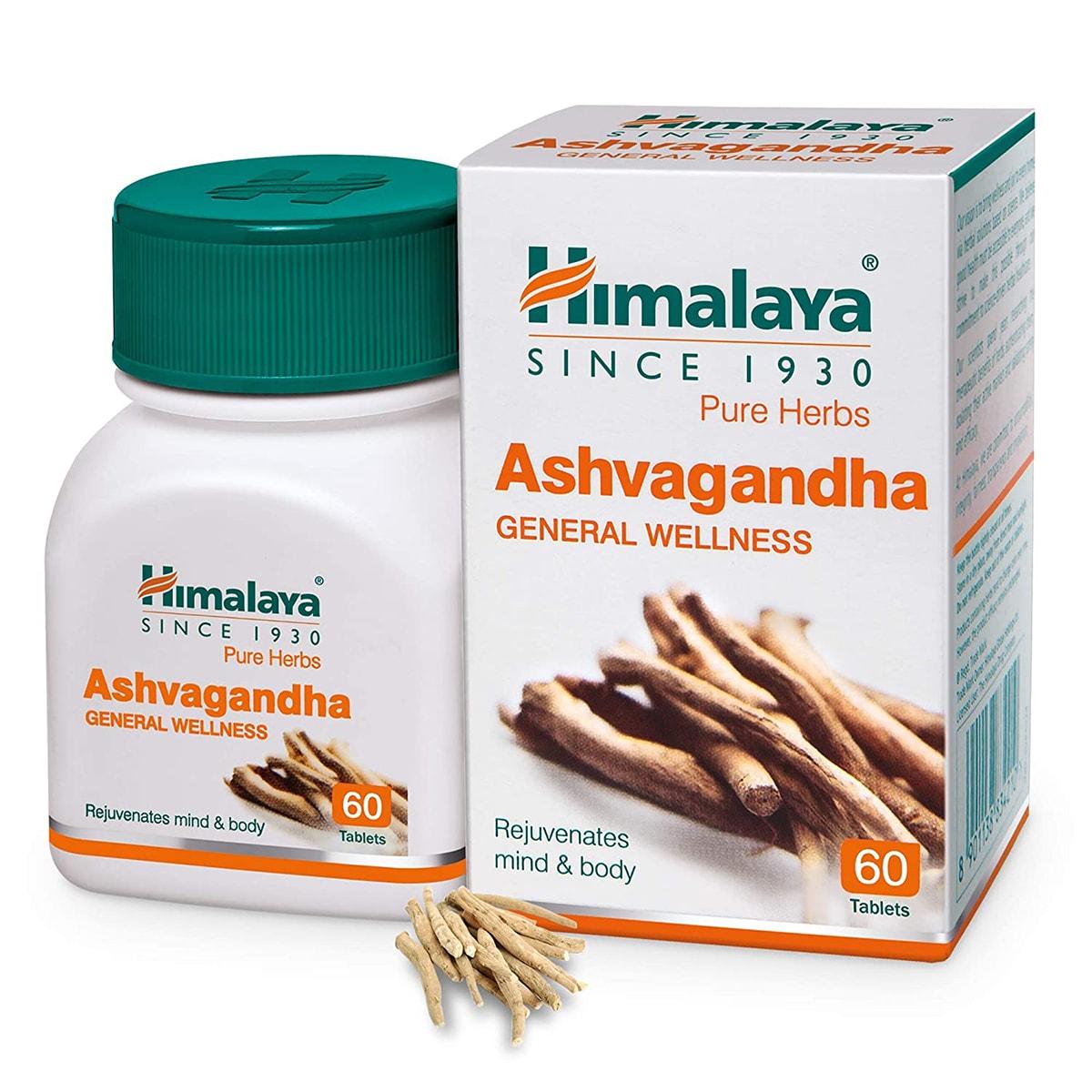 Buy Himalaya Herbals Ashvagandha - 60 Tablets