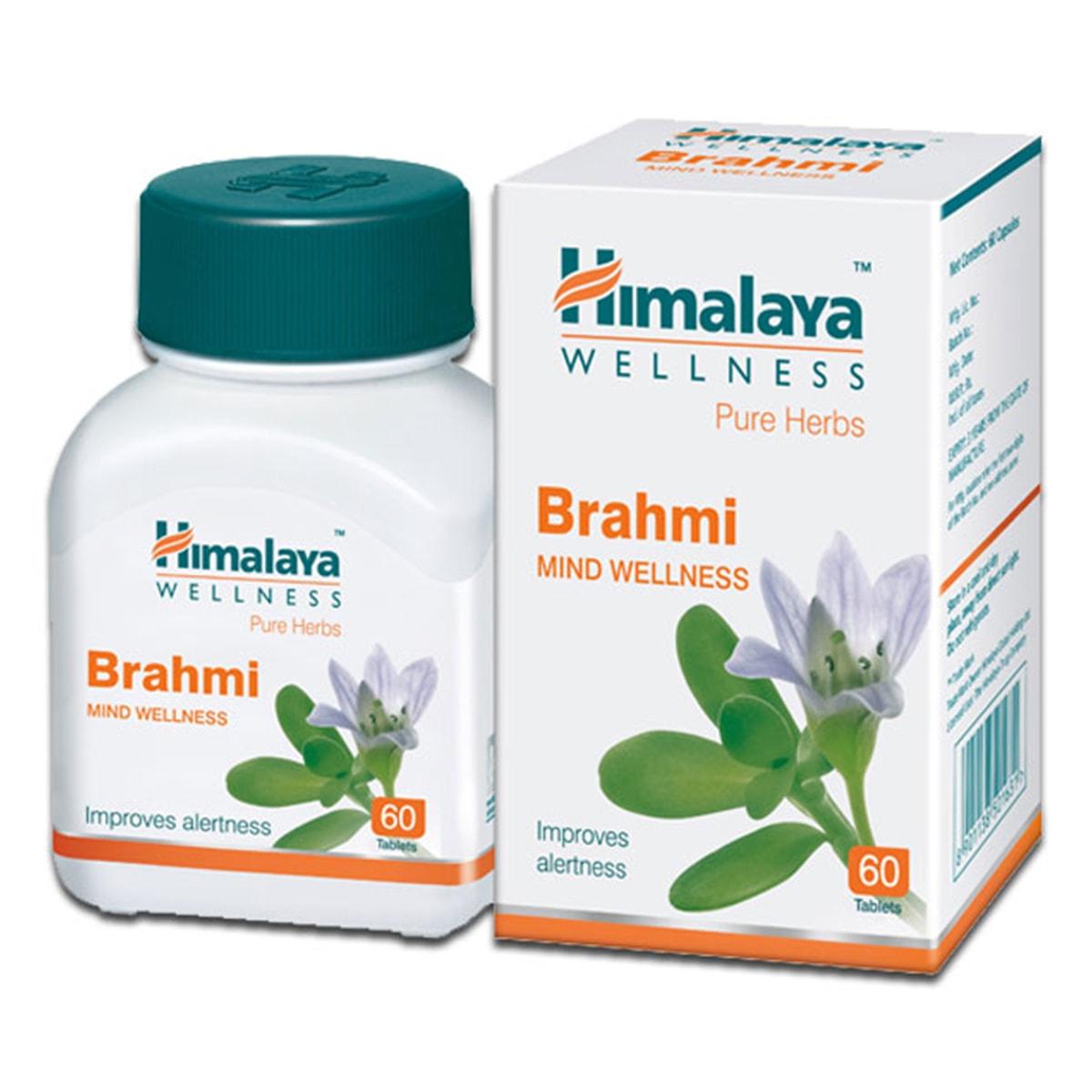 Buy Himalaya Herbals Brahmi / Bacopa Monnieri - 60 Tablets