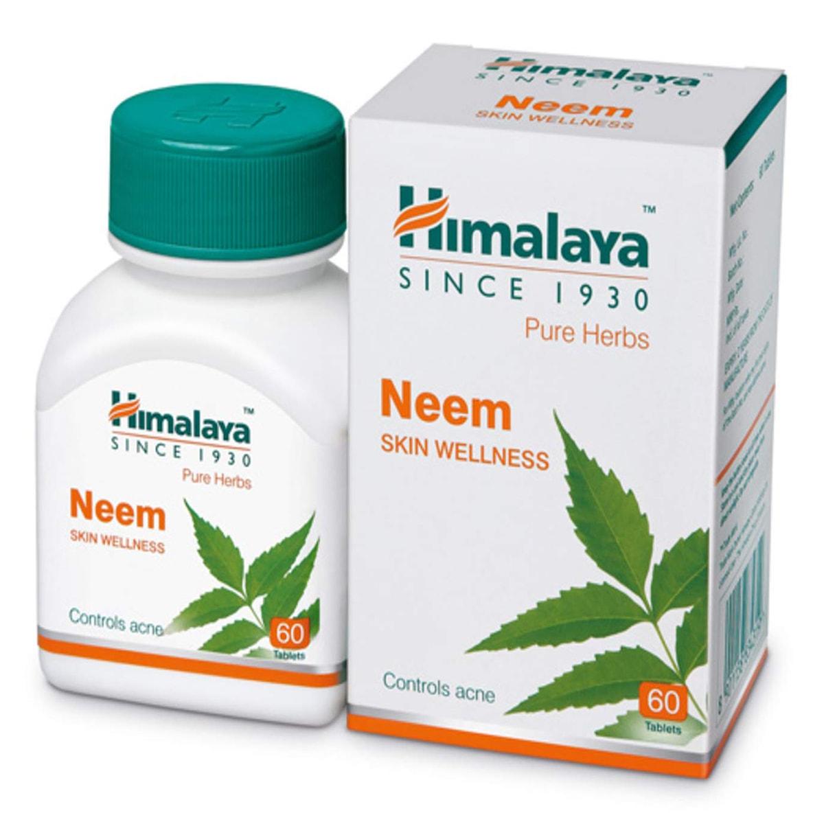 Buy Himalaya Herbals Neem Skin Care - 60 Capsules