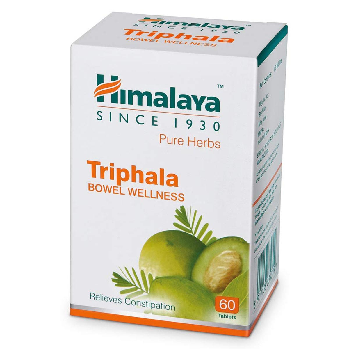 Buy Himalaya Herbals Triphala - 60 Tablets