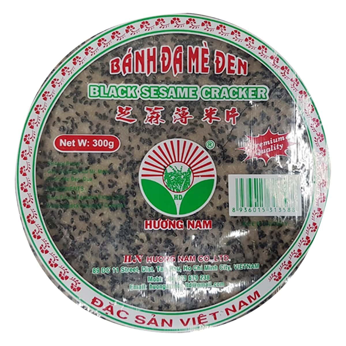 Buy Houng Nam Black Sesame Crackers - 300 gm