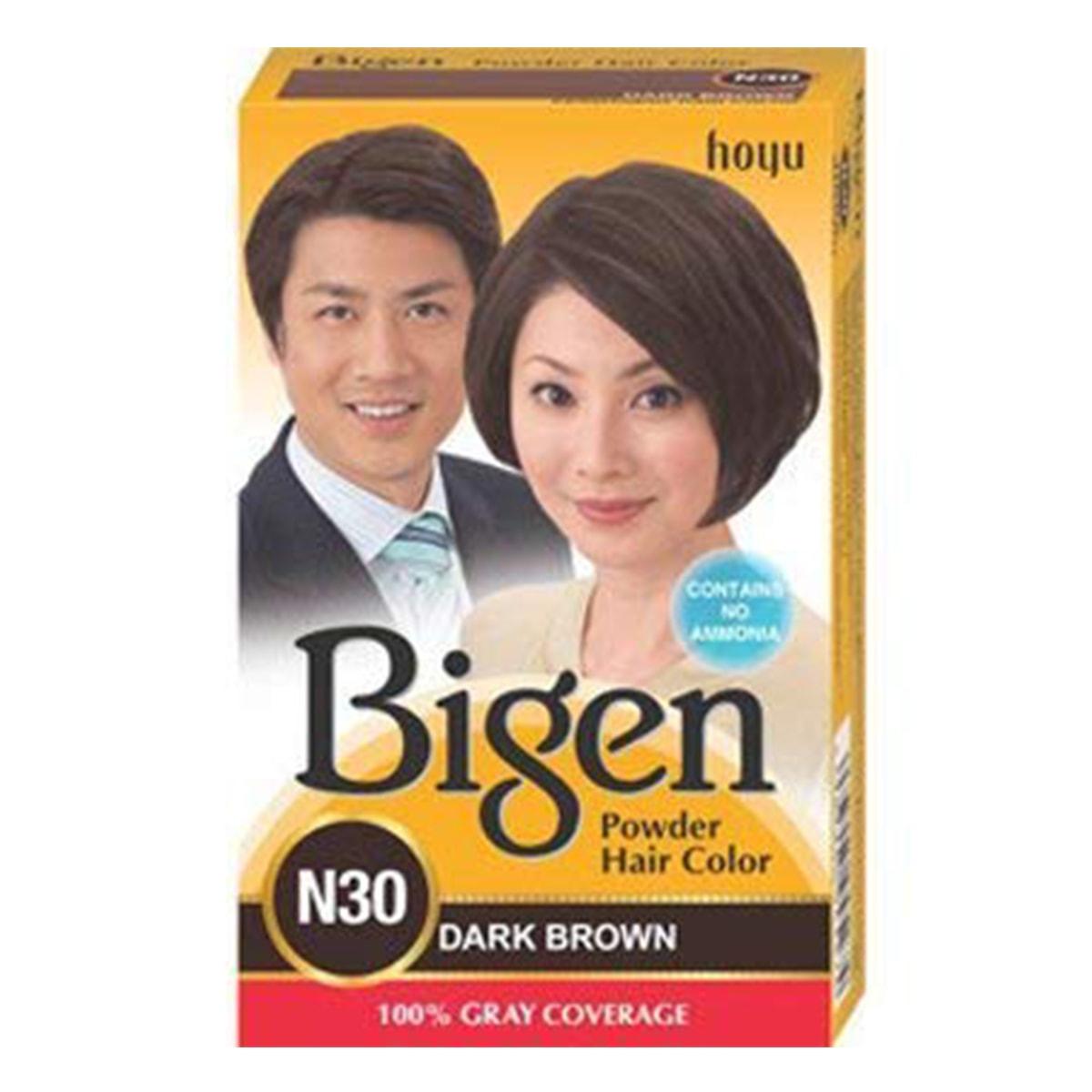 Buy Hoyu (Bigen) Bigen Powder Hair Color N30 (Dark Brown) - 6 gm