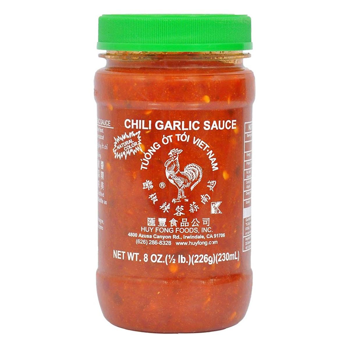 Buy Huy Fong Foods Chili Garlic Sauce - 226 gm