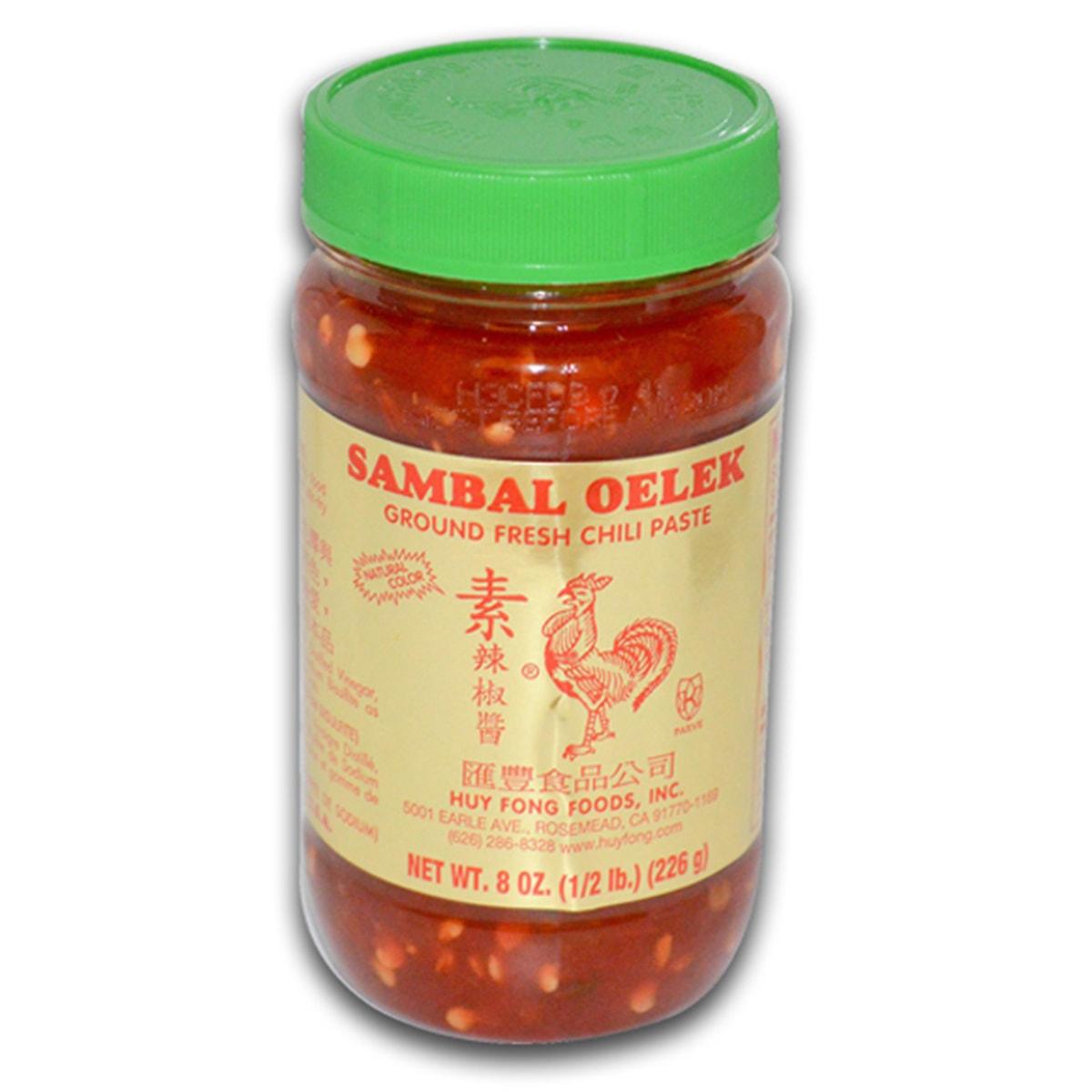 Buy Huy Fong Foods Sambal Oelek (Ground Fresh Chili Paste) - 226 gm
