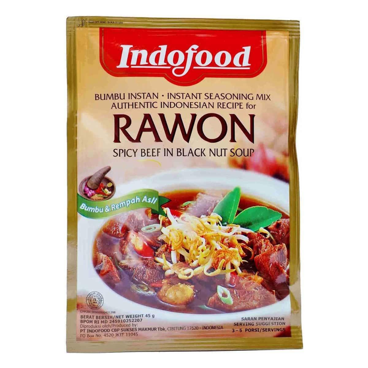 Buy Indofood Rawon (Instant Seasoning Mix) - 45 gm