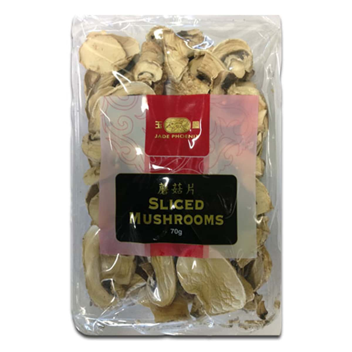 Buy Jade Phoenix Sliced Mushrooms - 70 gm