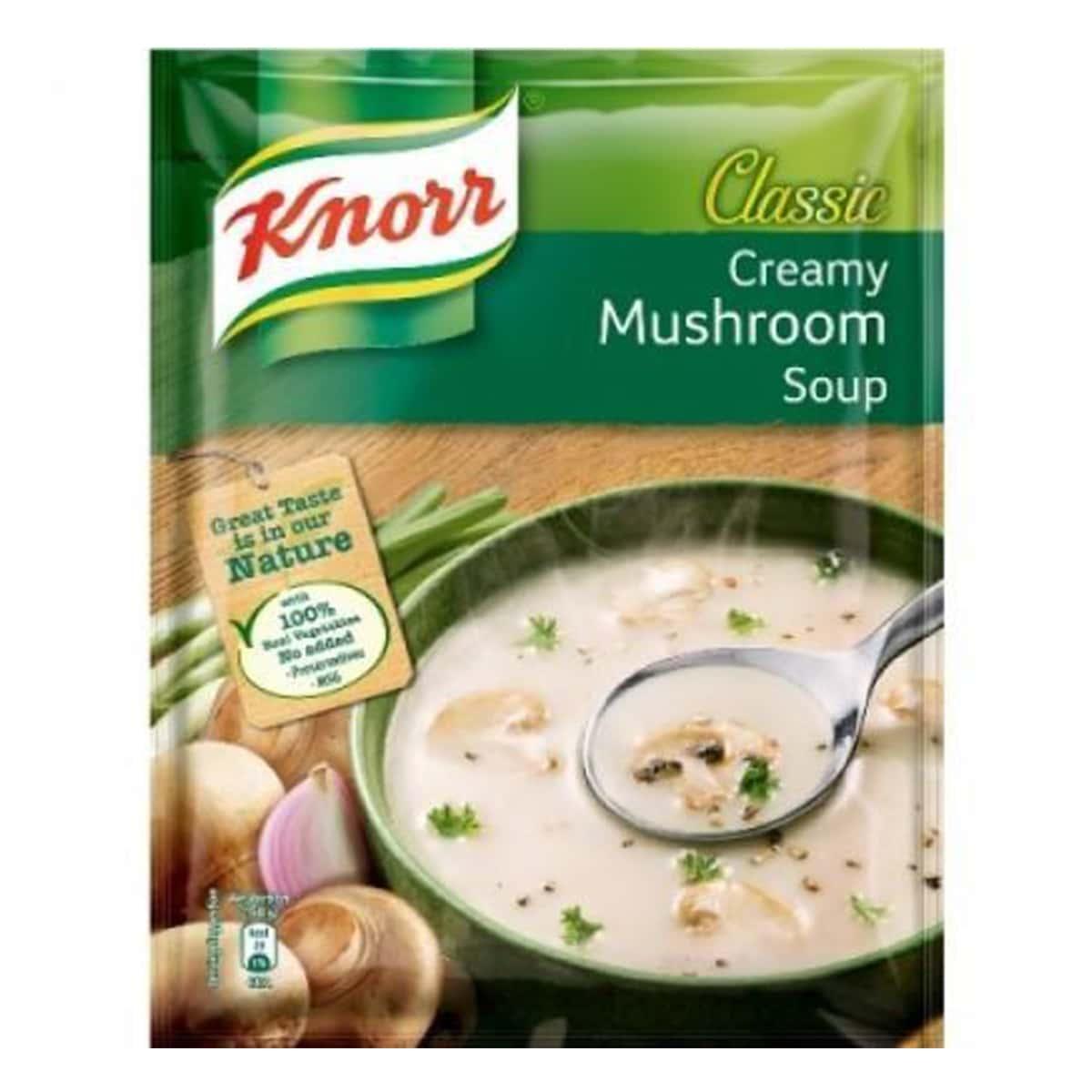 Buy Knorr Cream of Mushroom Soup - 50 gm