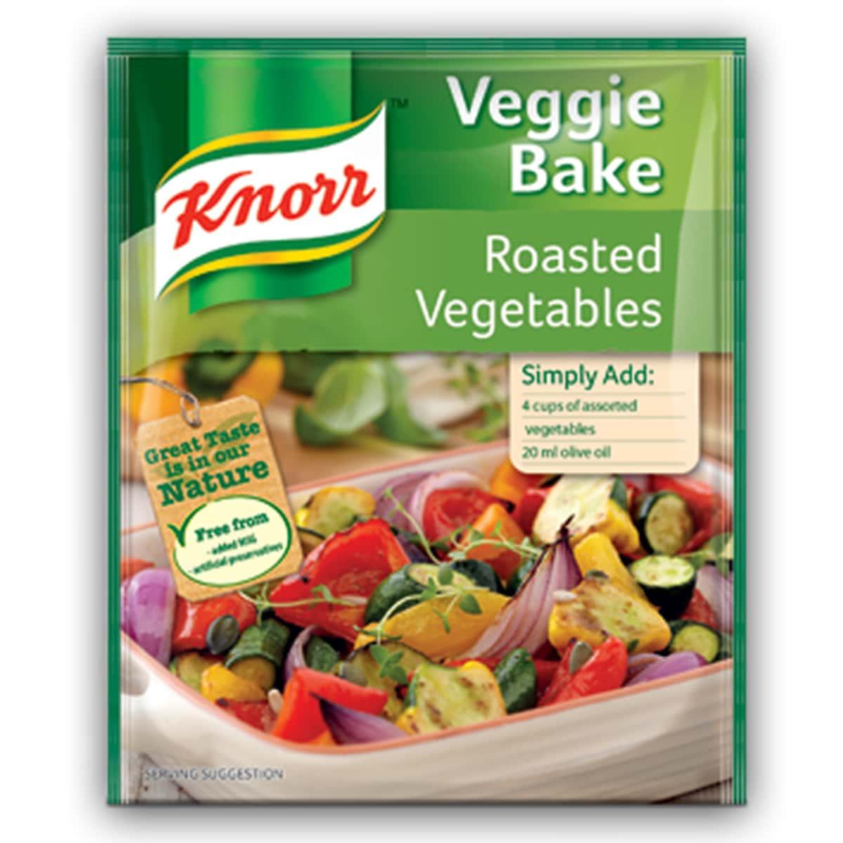 Buy Knorr Roasted Vegetables Veggie Bake Soup - 45 gm