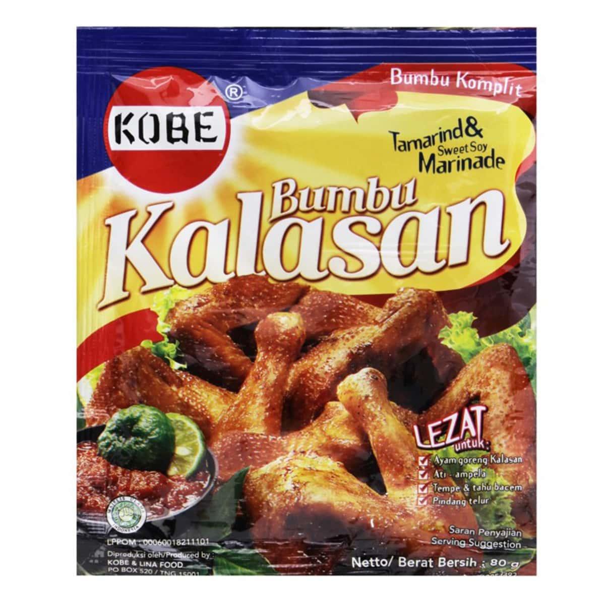 Buy Kobe Bumbu Kalasan (Tamarind and Sweet Soy Marinade Mix) - 80 gm