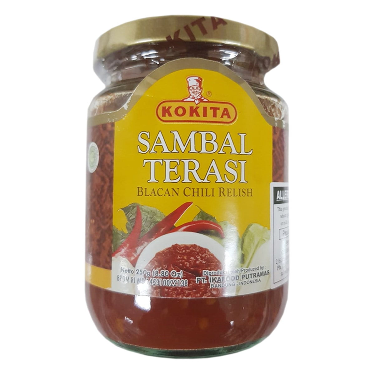 Buy Kokita Sambal Terasi - 250 gm