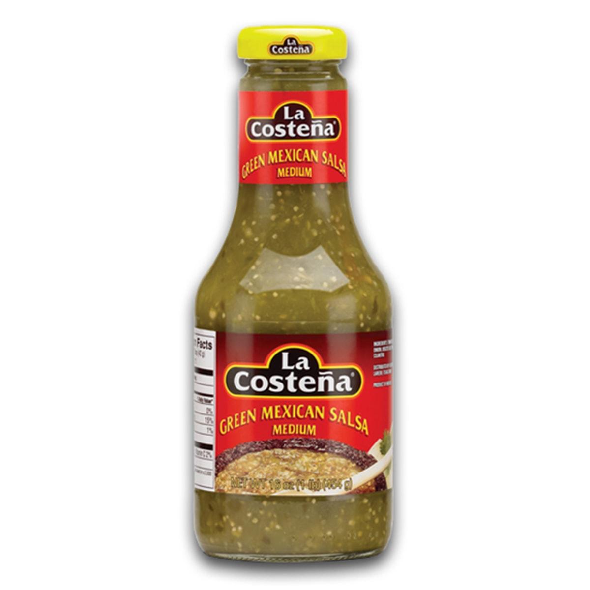 Buy La Costena Green Mexican Salsa Medium - 454 gm