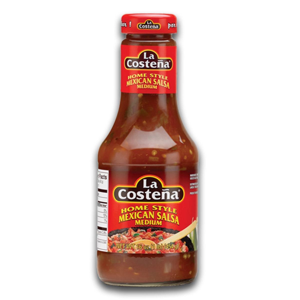 Buy La Costena Home Style Mexican Salsa Medium - 454 gm