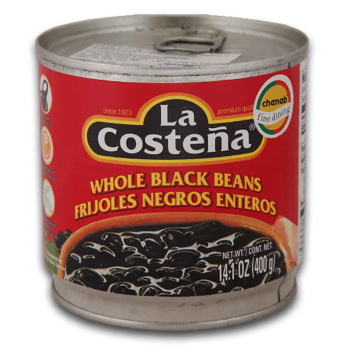Buy La Costena Whole Black Beans (Frijoles Negros Enteros) - 400 gm