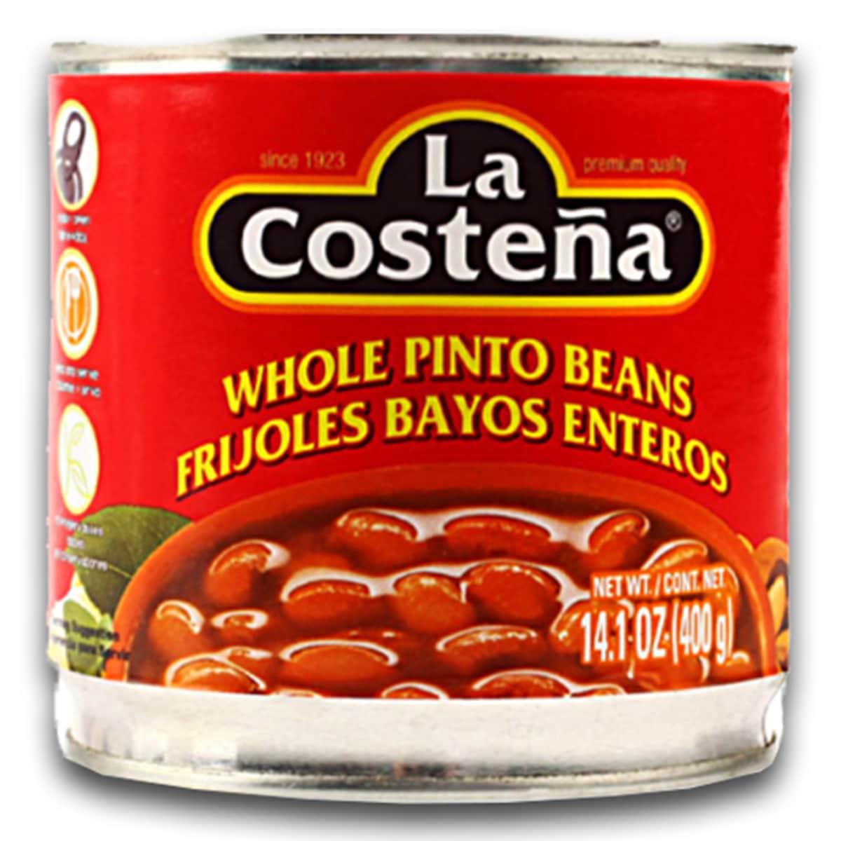Buy La Costena Whole Pinto Beans (Frijoles Bayos Enteros) - 400 gm