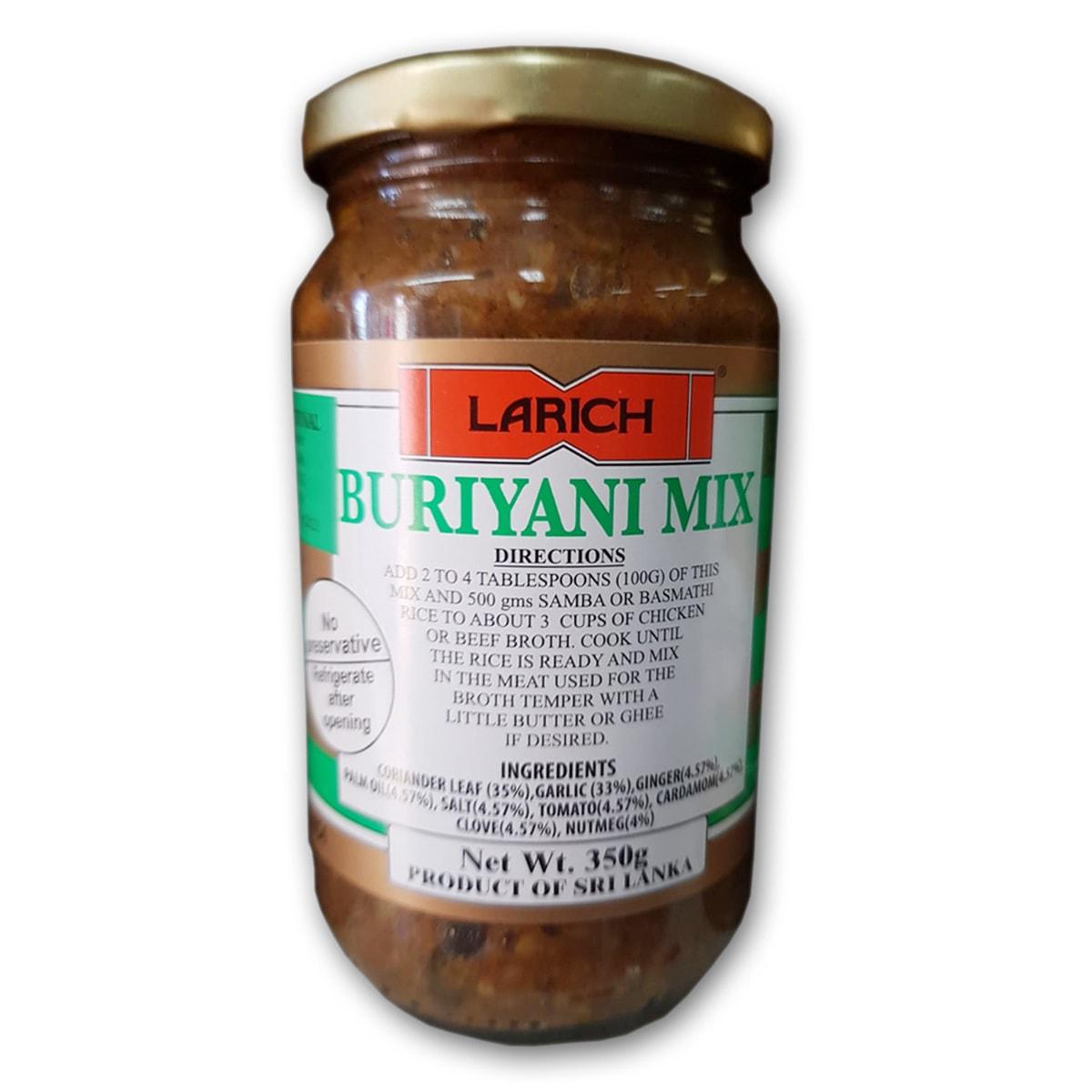 Buy Larich Buriyani Mix - 350 gm