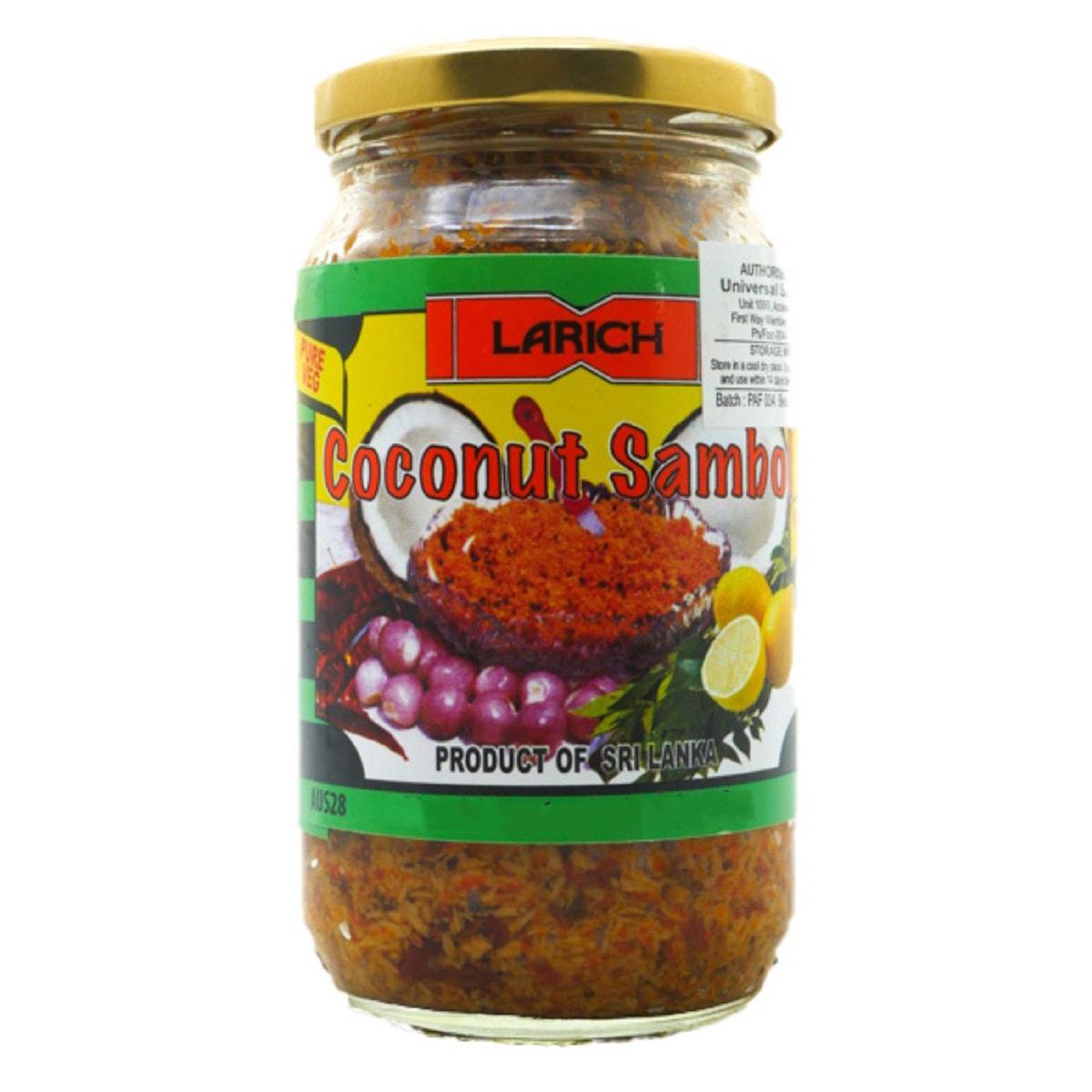 Buy Larich Coconut Sambol - 300 gm