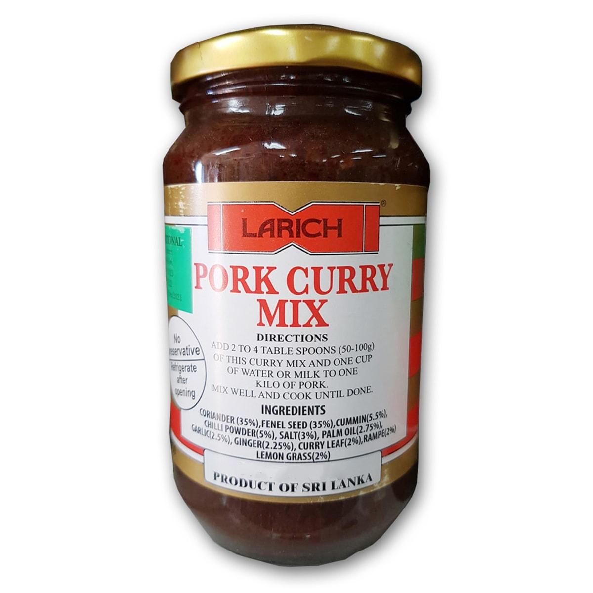 Buy Larich Pork Curry Mix - 375 gm