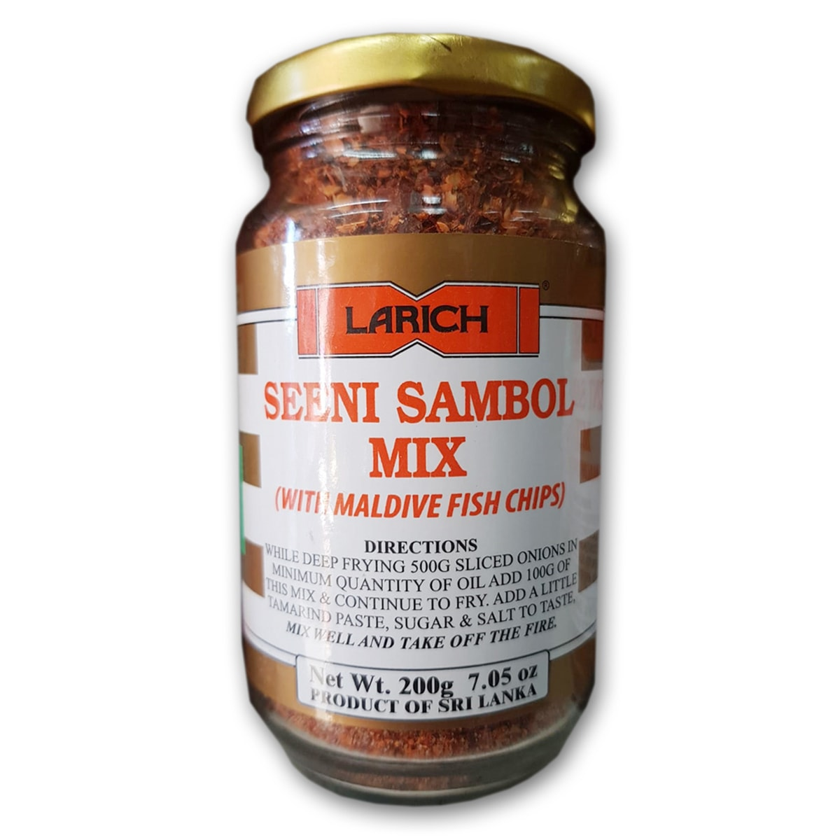 Buy Larich Seeni Sambol Mix - 200 gm