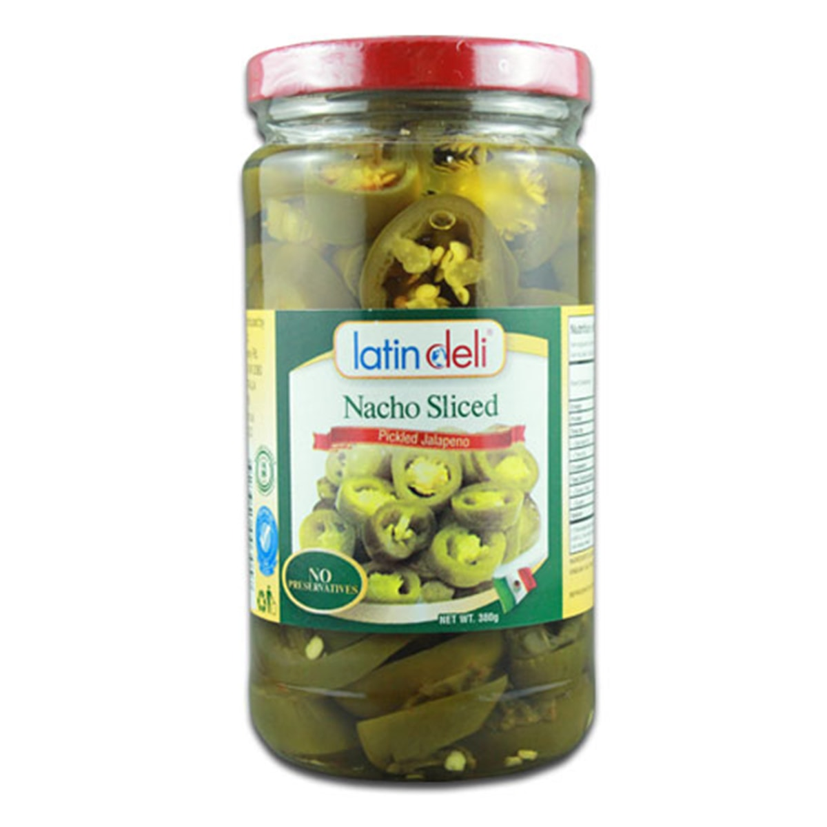 Buy Latin Deli Nacho Sliced (Pickled Jalapeno) - 380 gm