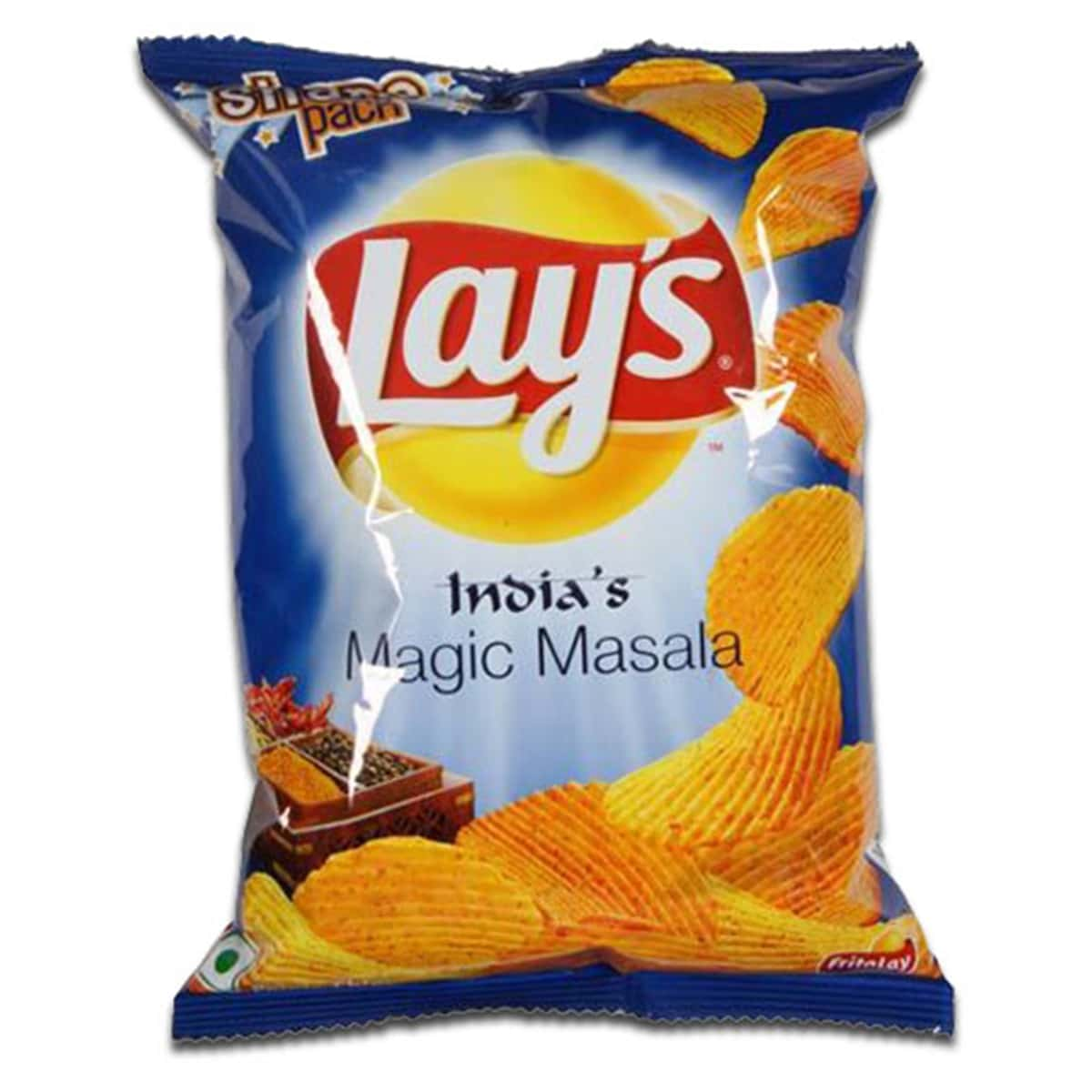 Buy Lays Indias Magic Masala (Potato Chips/wafers) - 52 gm