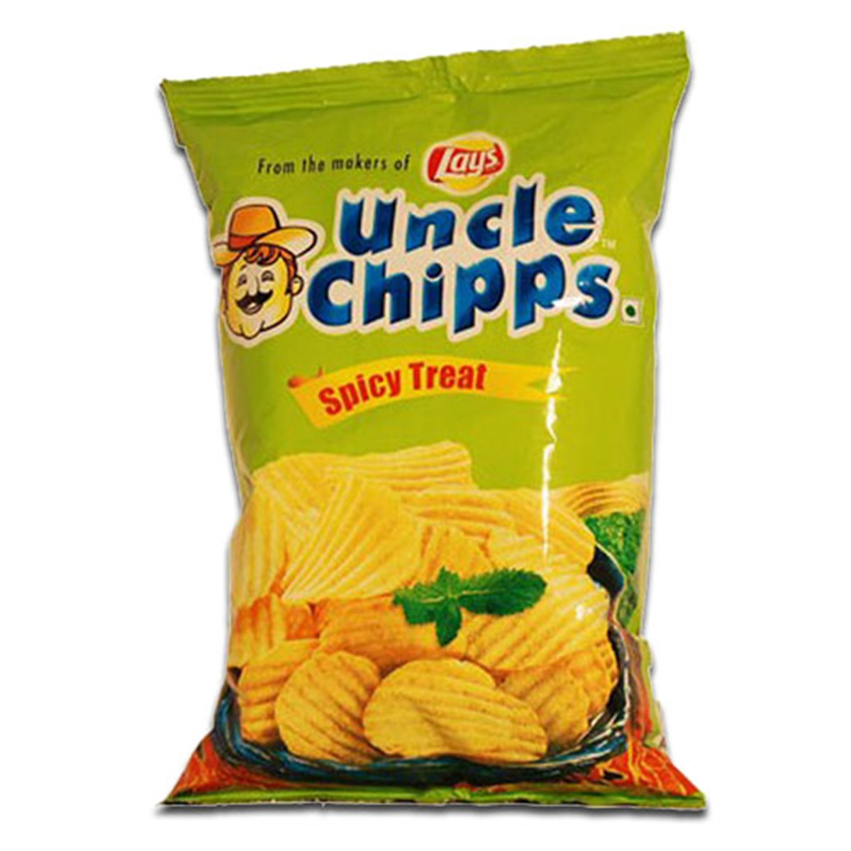 Buy Lays Uncle Chipps (Spicy Treat) - 40 gm