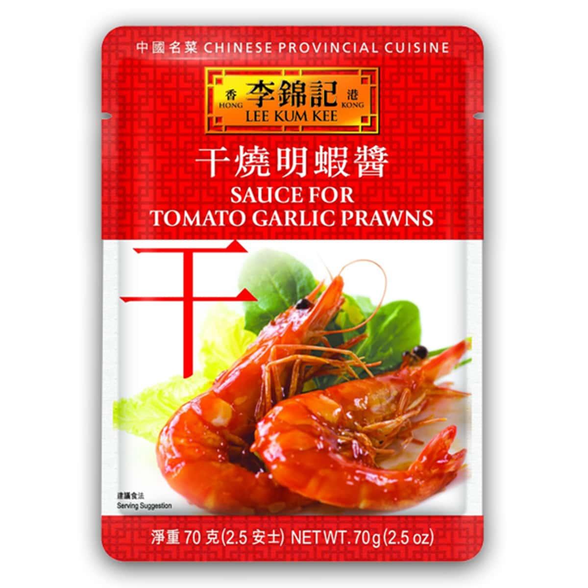 Buy Lee Kum Kee Sauce for Tomato Garlic Prawn - 70 gm