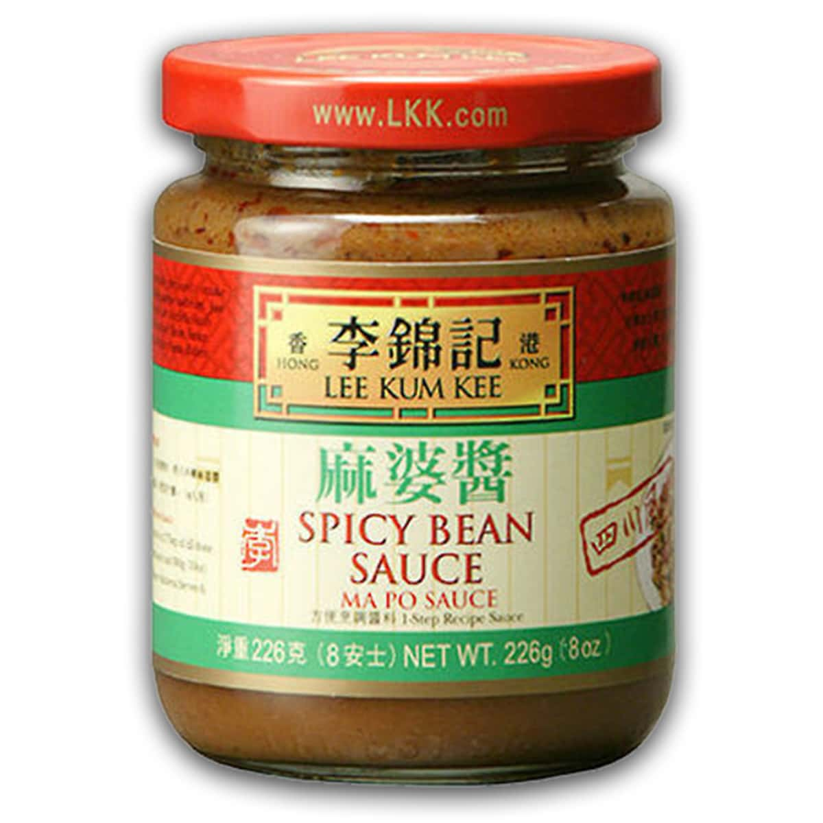 Buy Lee Kum Kee Spicy Bean Sauce (Ma Po Tofu) - 226 gm