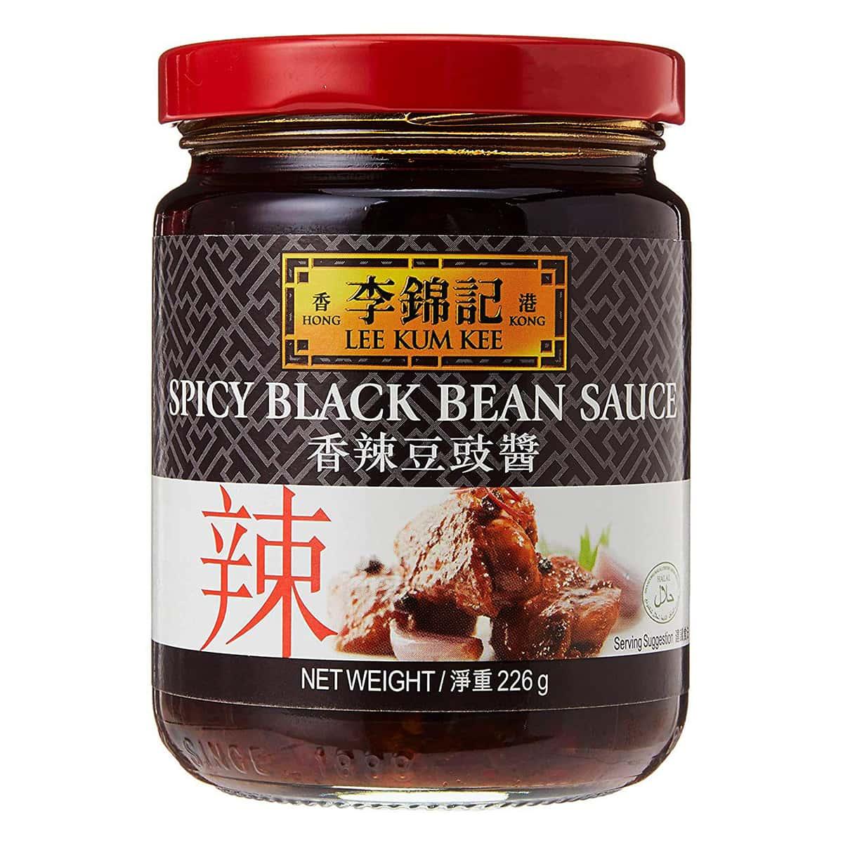 Buy Lee Kum Kee Spicy Black Bean Sauce - 226 gm
