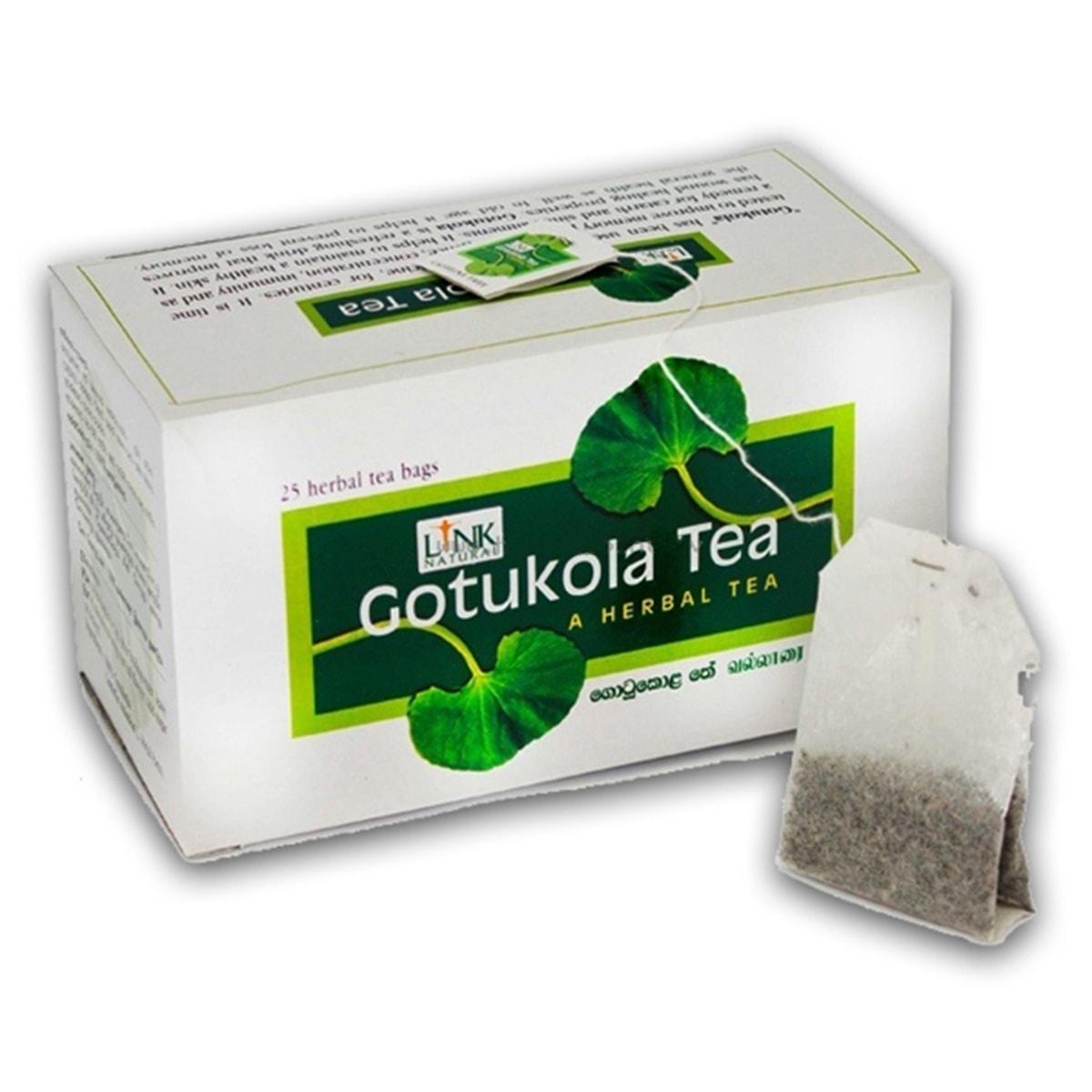 Buy Link Natural Gotukola Tea Bags(A Herbal Tea) - 37.5 gm