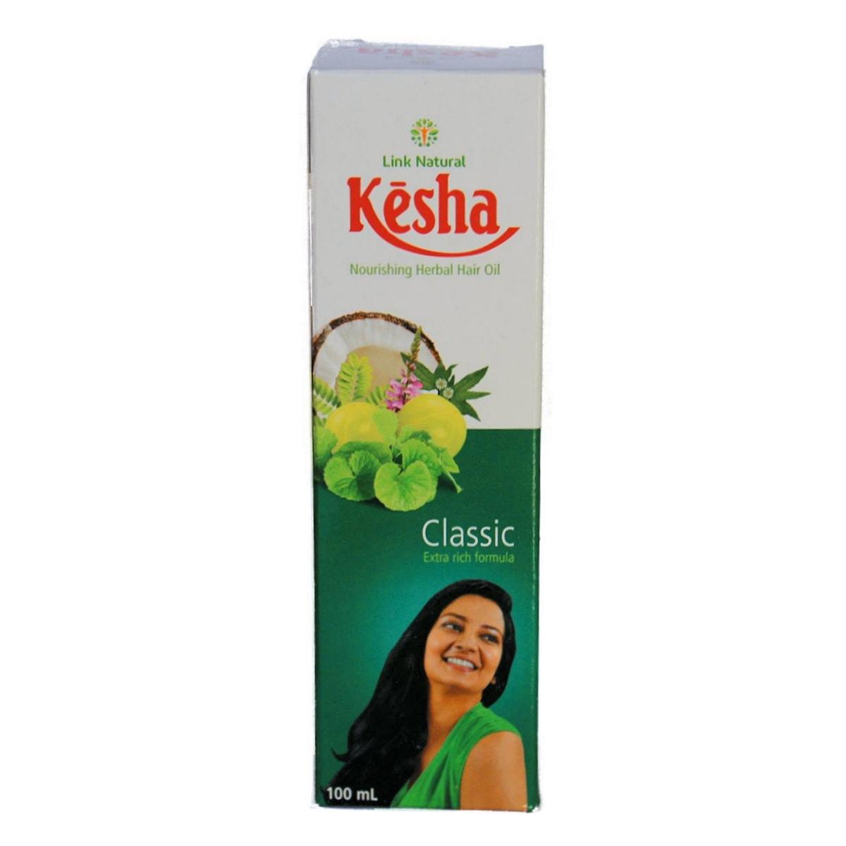 Buy Link Natural Kesha Herbal Beauty Hair Oil - 100 ml