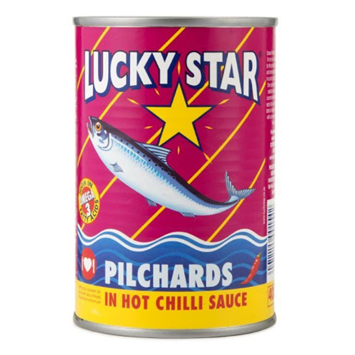 Buy Lucky Star Pilchards in Hot Chilli Sauce - 400 gm