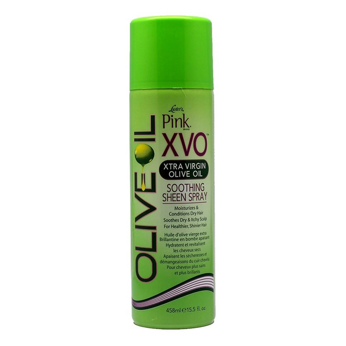 Buy Luster Pink XVO Xtra Virgin Olive Oil Soothing Sheen Spray - 458 ml