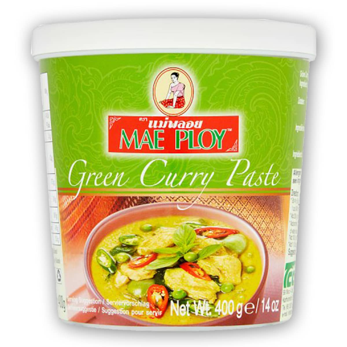 Buy Mae Ploy Green Curry Paste - 400 gm