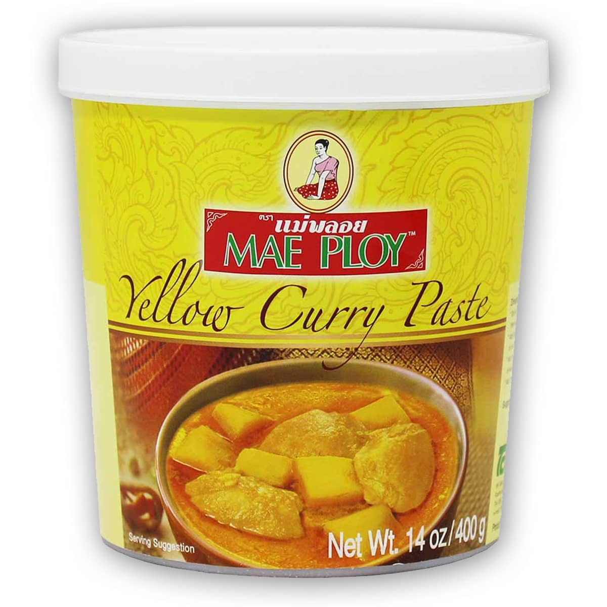 Buy Mae Ploy Yellow Curry Paste - 400 gm