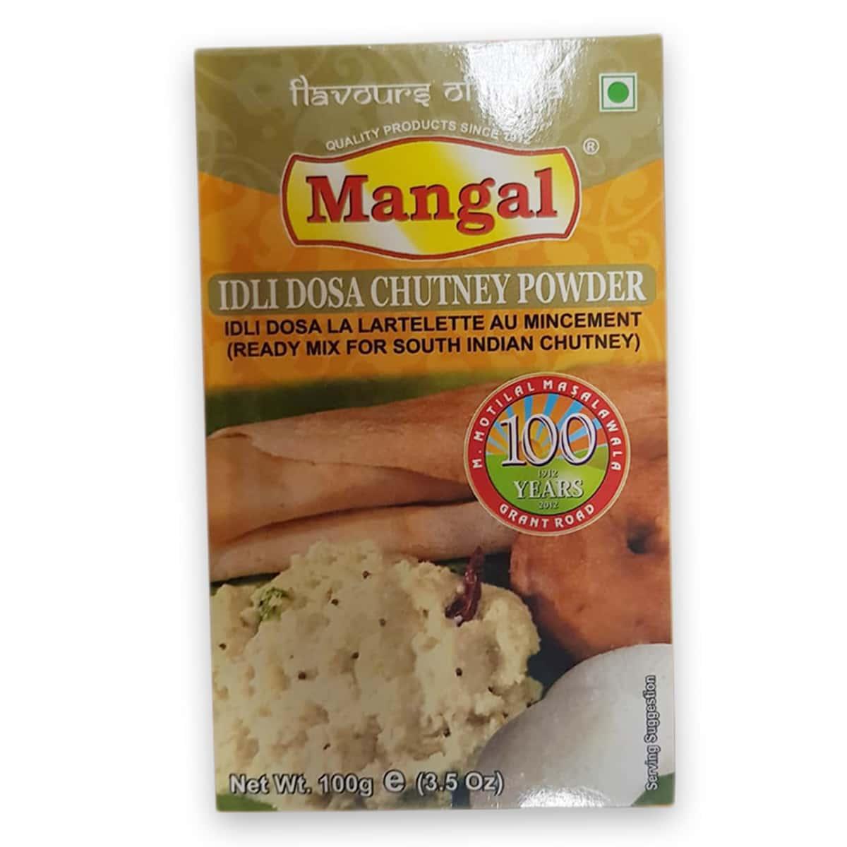 Buy Mangal Idli Dosa Chutney Powder - 100 gm