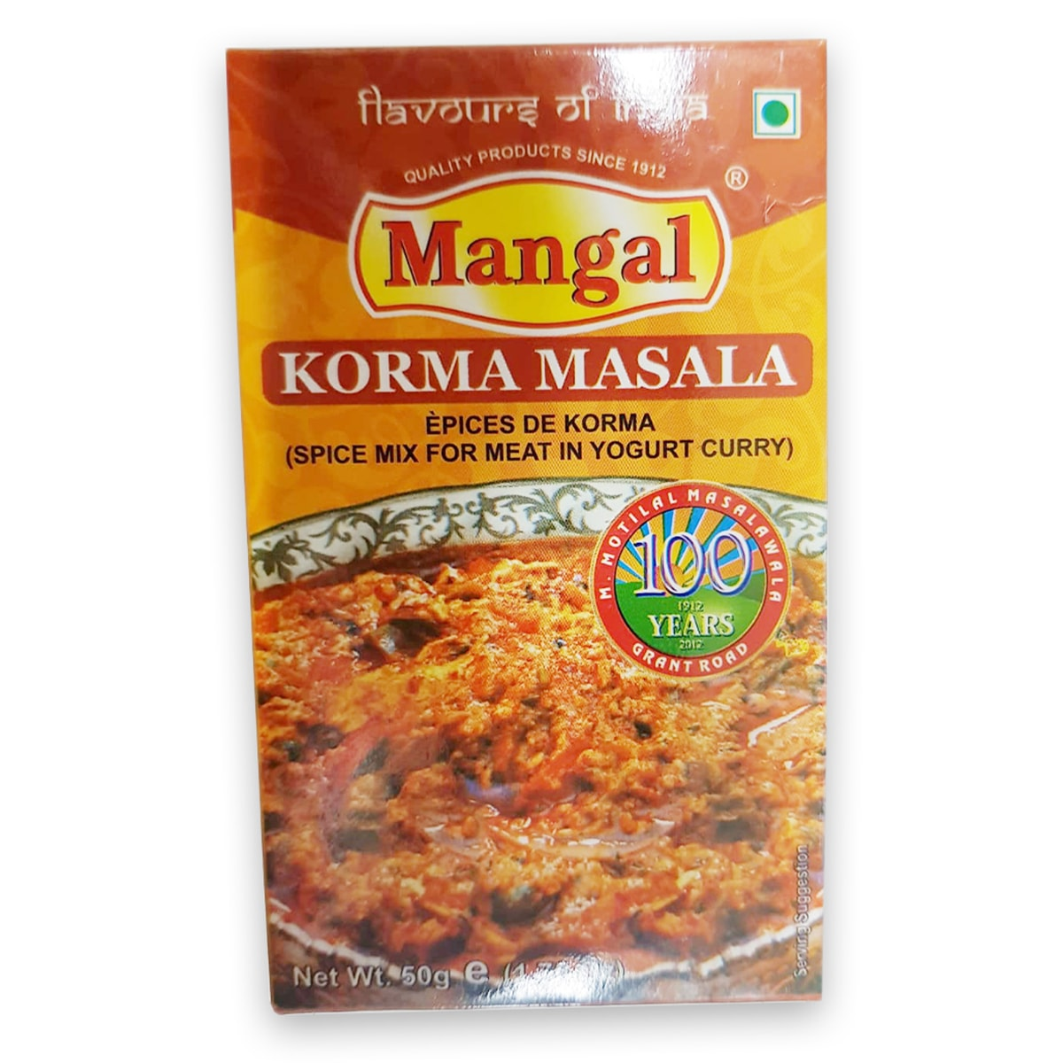 Buy Mangal Korma Masala - 50 gm