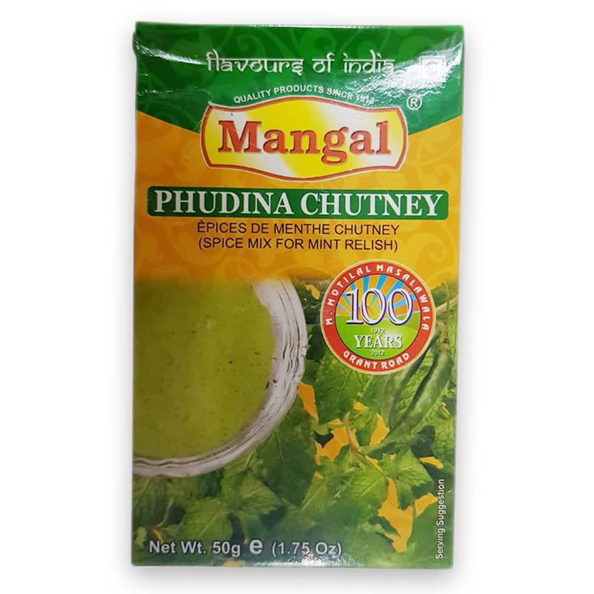 Buy Mangal Pudina Chutney - 50 gm