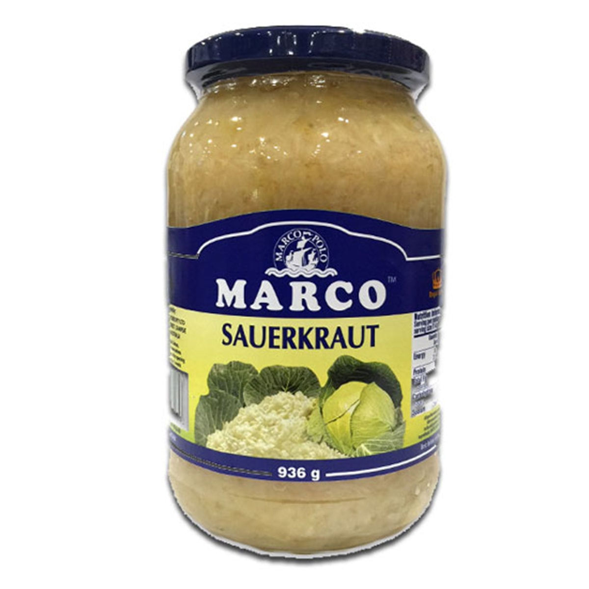 Buy Marco Polo Sauerkraut - 936 gm
