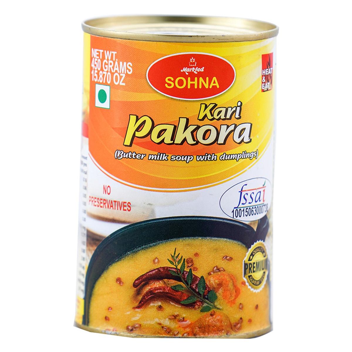 Buy Markfed Sohna Kari Pakora (Butter Milk Soup with Dumplings) - 450 gm